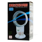 "USB / 5 x AA Powered 6.8"" 3-Mode Bladeless Fan - White"