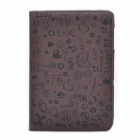 Protective PU Leather Case for Samsung P7510 - Coffee