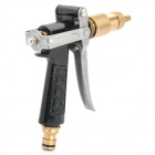 Car Wash High Pressure Spray Head Nozzle for Water Spray Gun - Black + Golden + Silver