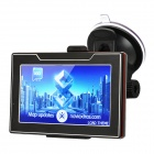 "4.3"" WinCE6.0 600MHz Touch FM/Game/E-book GPS Navigator + Internal 4GB USA Map"