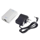 Optical to Coaxial Converter Adapter - Silver