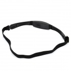 Stylish Waterproof Wireless Heart Rate Monitor Belt - Black