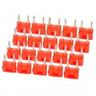DIY Dual Banana Plug Connector - Red (20 Pieces Pack)