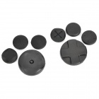 Protective Buttons Cap Kit for PS Vita - Black (8-Piece Pack)