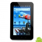 "7 ""Bildschirm Kapazitive Android 2.3 Tablet w / WiFi / Kamera / External 3G / G-Sensor - Weiß (1,0 GHz)"