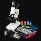 150~1200X Microscope w/ Lighting Pen / USB Electronic Eyepiece / Discovery Kit - White (2 x AAA)