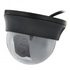 1/3 CCD Surveillance Security Camera - Black