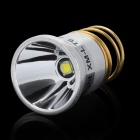 Ultrafire T6 700LM 6500K 1-Mode White Light LED Flashlight Drop-in Module - Silver + Golden