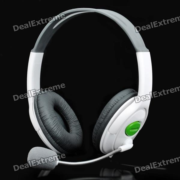 USB Connector Headset Headphone w/ Microphone / Volume Control - White (200cm-Cable) jabra biz 2300 mono qd e std nc wb 2303 820 104