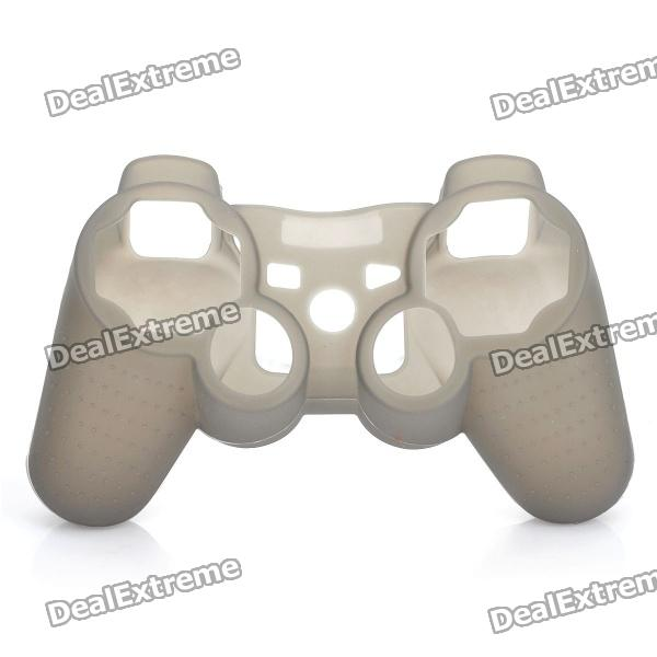 Plastic Protective Case for PS3 Controllers - Transparent Grey