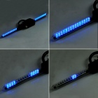 Wireless Custom Message Blue 30-LED Bicycle Bike Wheel Light - Black (3 x AAA)