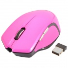 Bondidea N86 2,4 GHz 1000 / 2000dpi Wireless USB optische Maus - Deep Pink (1 x AA)