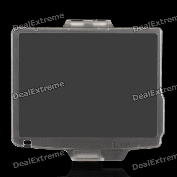 Protective Snap-on Hard Screen Protector Cover for Nikon D90