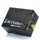 Optical Toslink Digital to Analog Audio Converter - Black