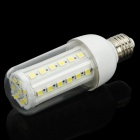 E27 7W 6000~7000K 470~540-Lumen 44-5050 SMD LED White Light Bulb with Cover (110V)