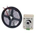 72W 3000lm 300 * 5050 SMD LED 2800-3500K Warm White Light Strip flexível com Dimmer