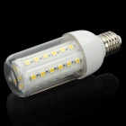E27 7W 3000~3200K 480~550-Lumen 44-5050 SMD LED Warm White Light Bulb with Cover (AC 220V)