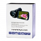 "5.1MP CMOS Digital Video Recorder Camcorder w/ SD / AV-Out - Red (3.0"" TFT LCD)"