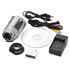 "5.0MP Digital Video Recorder Camcorder w/ SD / AV-Out - Silver (2.4"" TFT LCD)"