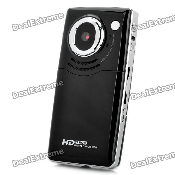 "1.3MP CMOS Handheld Camcorder w/ HDMI / AV / SD Slot - Black (2.0"" TFT)"