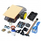 2WD Ultrasonic Smart Car Kits for Arduino (Works with Official Arduino Boards)