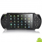 "Genuine JXD V5200 Android 2.3 Game Console Media Player w/ 5.0"" LCD, Camera and HDMI - Black (4GB)"