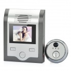 "2.0"" TFT LCD 300KP Digital Peephole Camera Door Viewer w/ 2-LED IR Night Vision / TF - Grey + Silver"