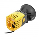 3W Aquarium Fish Tank Wave Maker - Black + Yellow (AC 220~240V / 2-Flat-Pin Plug)