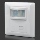 PIR Movement Sensor Automatic Control Switch - White (180~250V)