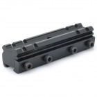 21mm to 11mm Gun Rail Mount A - Black