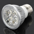 E27 4W 380LM 2500K~3200K Warm White 4-LED Spot Light Bulb (87~265V)