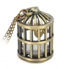 Retro Birdcage Style Necklace Quartz Pocket Watch - Bronze (1 x 377S)