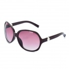 Stylish Lady's Round UV 400 Protection Sunglasses - Light Purple