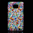 Shining Colorful Acrylic Diamonds Protective Plastic Cover Case for Samsung i9100