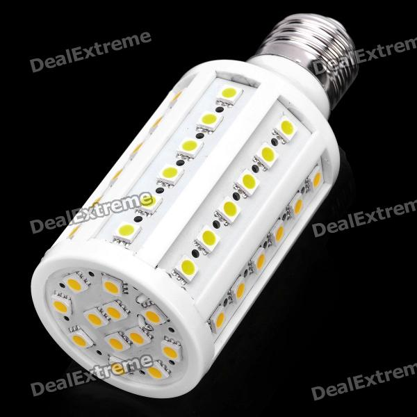 E27 12W 800LM 3200K 60x5050 LED Warm White Light Bulb (220V) singfire 800lm white light led emitter