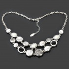 Fashion Elegant Necklace - Silver
