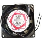 SF8025AT AC 220~240V 100mA Cooling Fan - Black (7.8cm-Diameter)