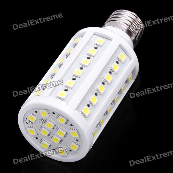 E27 7W 800LM 7000K 60x5050 LED White Light Bulb (110V) singfire 800lm white light led emitter