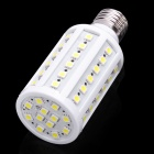 E27 7W 800LM 7000K 60x5050 LED White Light Bulb (110V)