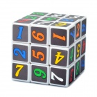 3x3x3 Numeric Brain Teaser Magic IQ Puzzle - White Base