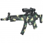 Cool Camouflage BB Toy Gun with Red Laser / Blue & Green Flashing Light