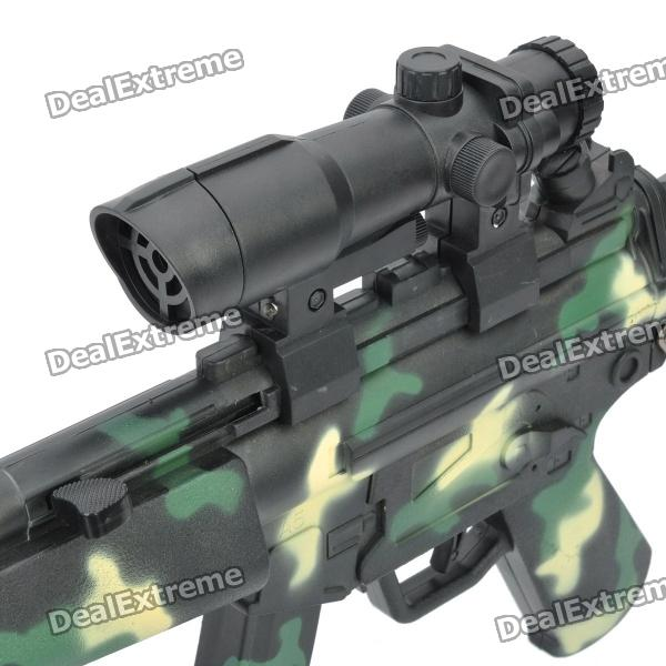 Cool Toy Guns : Cool camouflage bb toy gun with red laser blue green