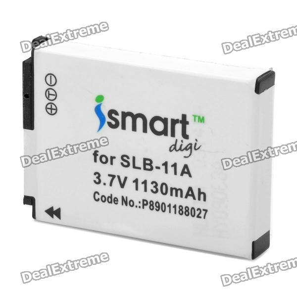 iSmart Digi Replacement SLB-11A 1130mAh Battery for Samsung EX1 / TL-320 / WB100 / WB5000 + More