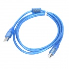 USB 2.0 Printer Connection Cable - Blue (1.5M Length)