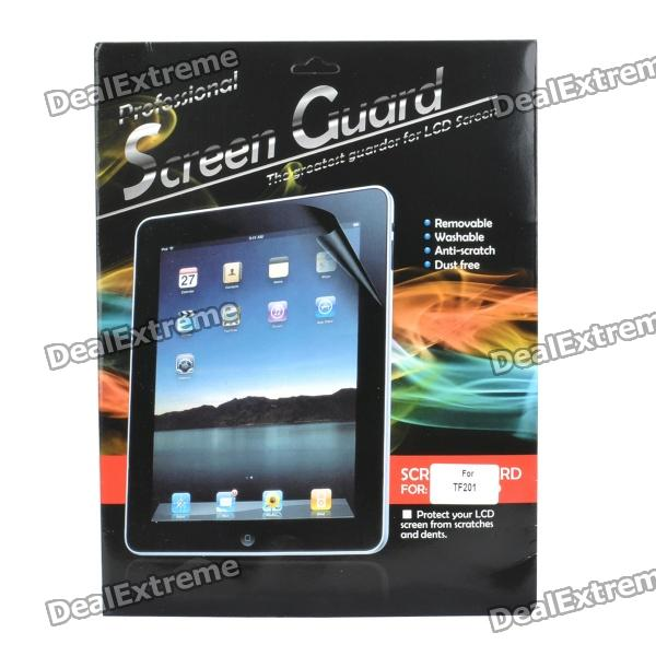 Screen Protector Guard Film w/ Cleaning Cloth for Asus Eee Pad Transformer Prime TF201 protective matte frosted screen protector film guard for nokia lumia 900 transparent
