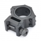 25mm/30mm Aluminum Alloy Gun Rail Mount - Black