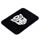 Transformers Image Style Vehicle Anti-Slip Silicone Mat - Black