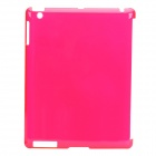 Protective PVC Back Case for the New Ipad - Translucent Red