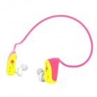 Sports Rechargeable MP3 Player Headset - Pink (2GB)