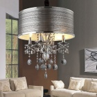 4-light Chrome Crystal Chandelier (110-120V)